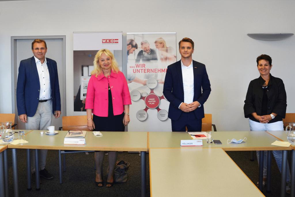 Pressekonferenz zur Situation im Bezirk Rohrbach