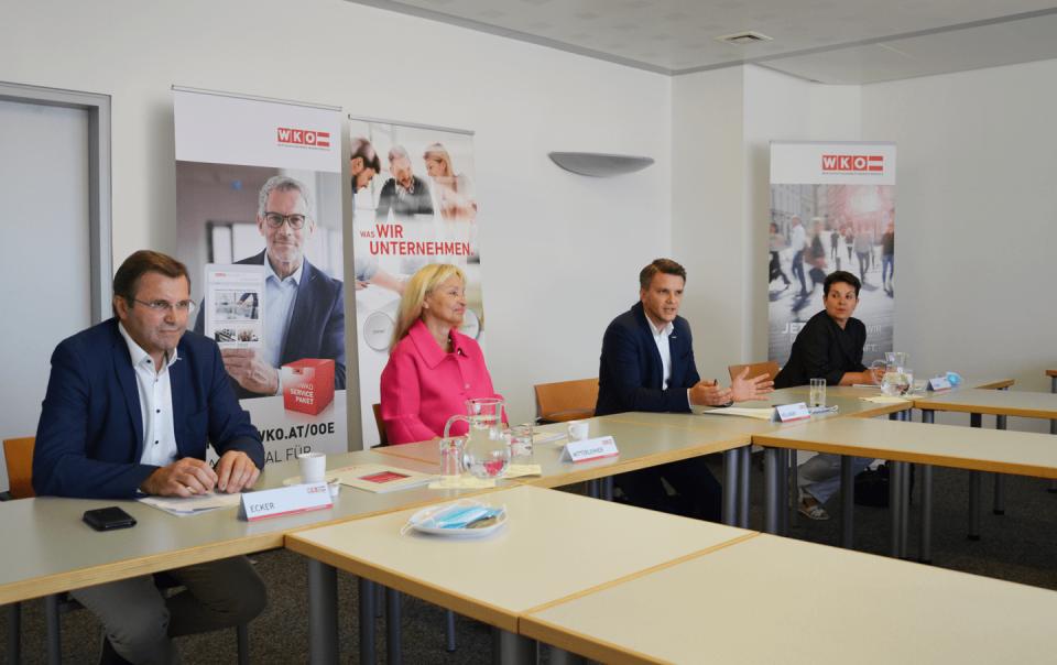 Pressekonferenz zur aktuellen Situation im Bezirk Rohrbach