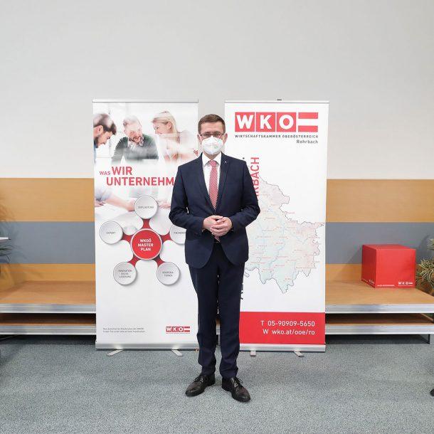Pressekonferenz Markus Achleitner und Andreas Höllinger
