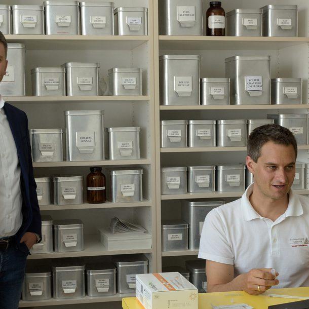 Andreas Höllinger und Stefan Dobersberger bei den digitalen Testungenb